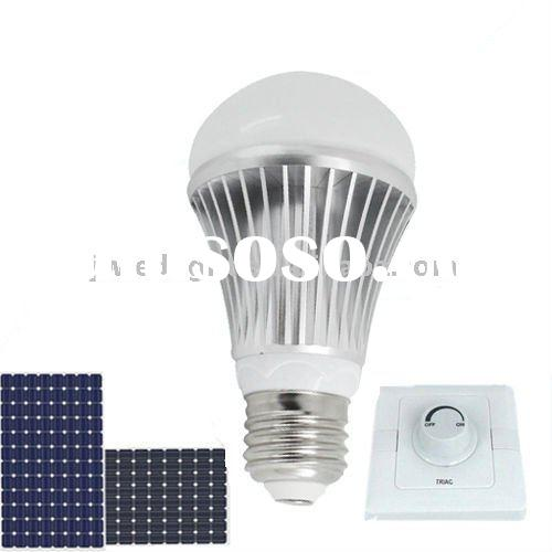 solar led bulb 12v,solar led light,led bulb 5w 6w