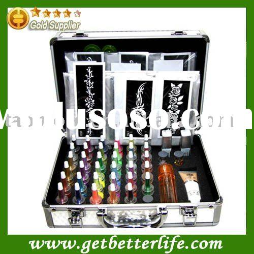 temporary tattoo kits - Body Art Deluxe Kit (38color)