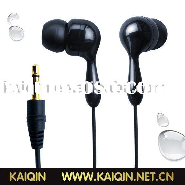 waterproof earphone,earphone for swimming,waterproof earphone for MP3/MP4