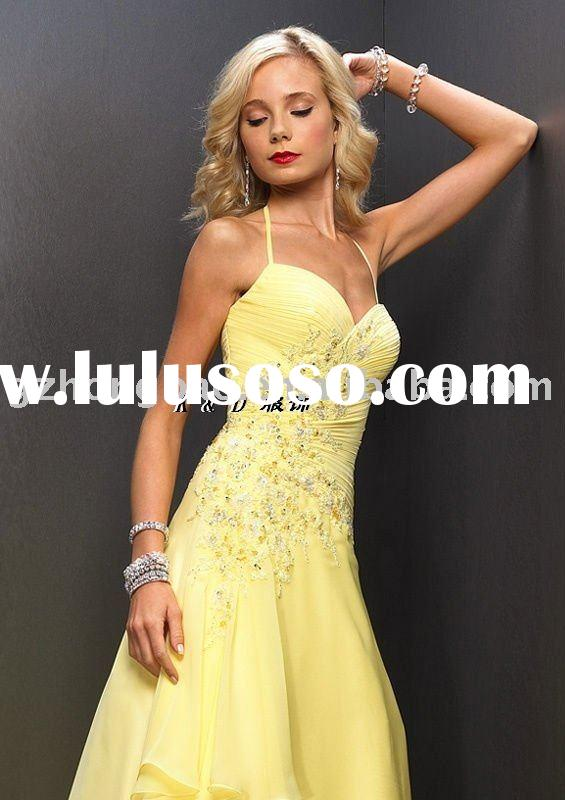 yellow beaded evening wear dresses Apparel Plus Size Clothing