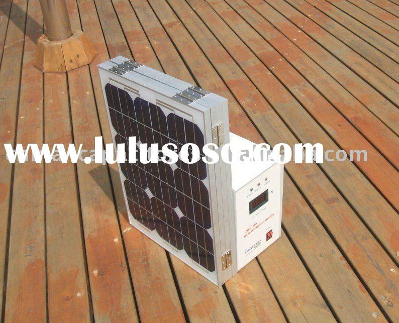 100W solar kit,portable solar system for home use,100w off-grid solar system for lighting