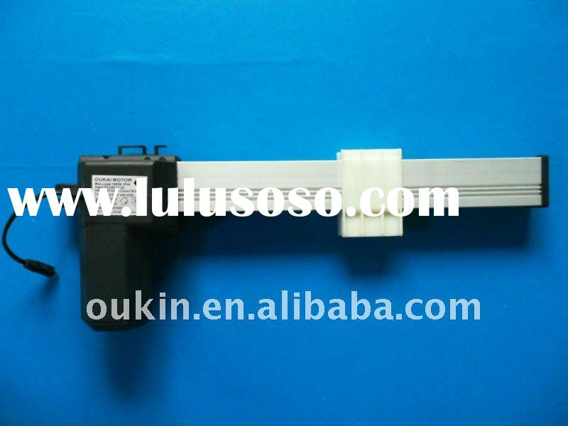 12/24V DC 100kgs force 40mm/s speed 700mm stroke slide actuator for automatic TV lift