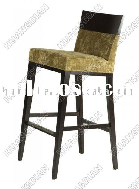 2011 Antique solid wood bar chair HDB043