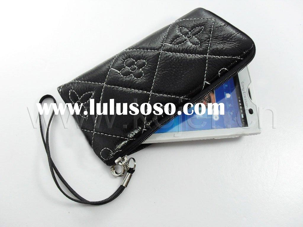2011 Cell Phone Leather Pouch For Nokia C6