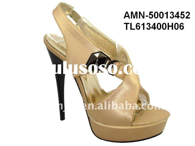 2011 high heels women shoe from China