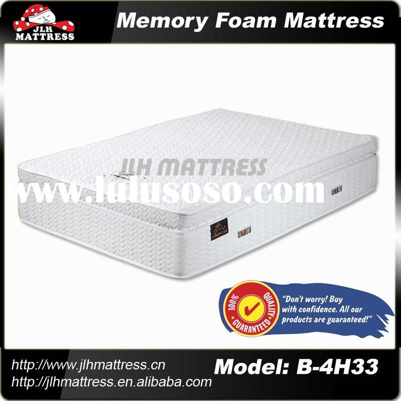 2011 hot selling Memory foam mattress with model number B-4H33