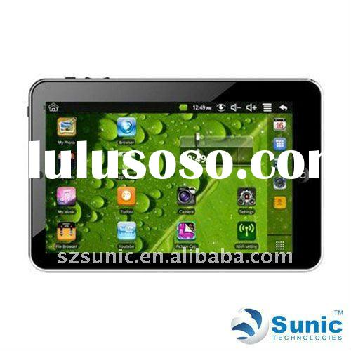 2011 hot selling Tablet PC, WM8650 + Android 2.2 + 7 inch resistance touchscreen