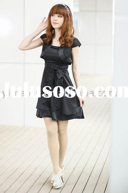 2011 new fashion silk dress