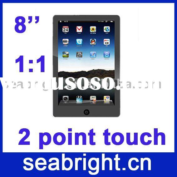 """2011 touch pc android 8""""( optional in-built 3G,two-point touchscreen,8 hours working time)"""