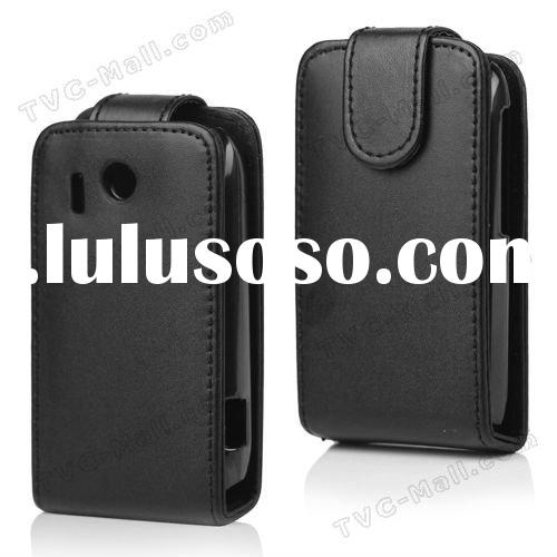2012 New Cell Phone Leather Flip Case For HTC Explorer