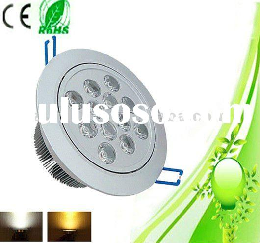2012 Super brightness,high power led downlight with CE,RoHS for housing