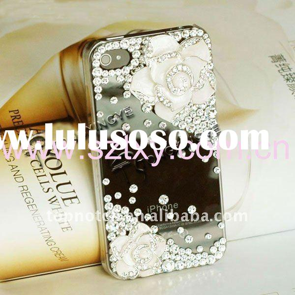 2012, luxurious bling cell phone case