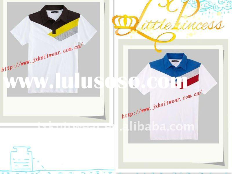 2012 men's newest classical solid pique cotton us polo tshirt