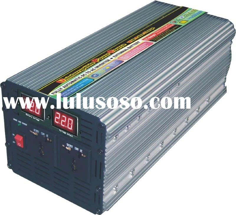 3000W with charger power inverter & solar power inverter