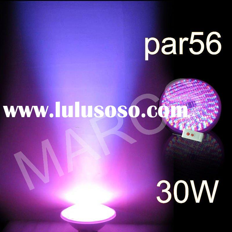 30W RGB remote control LED swimming pool light