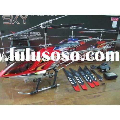 36 inch 92 cm RC Gyro Metal 3.5 Channel Large Helicopter 8501 Sky King