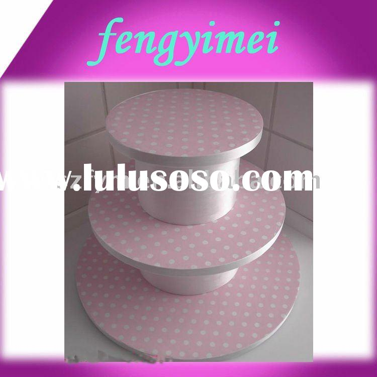 3-Tiers Plastic Cupcake Stand, Cake Stand Holder FYM-CPD05310