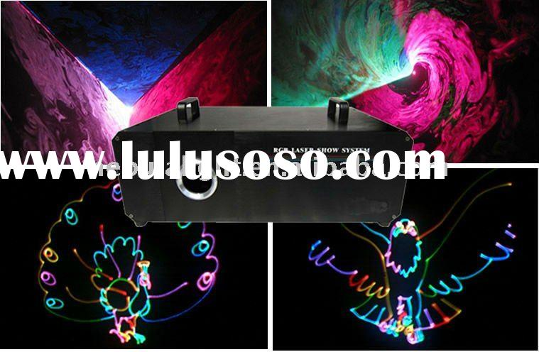 500mW/1W Gobo RGB Multi Color Laser Light