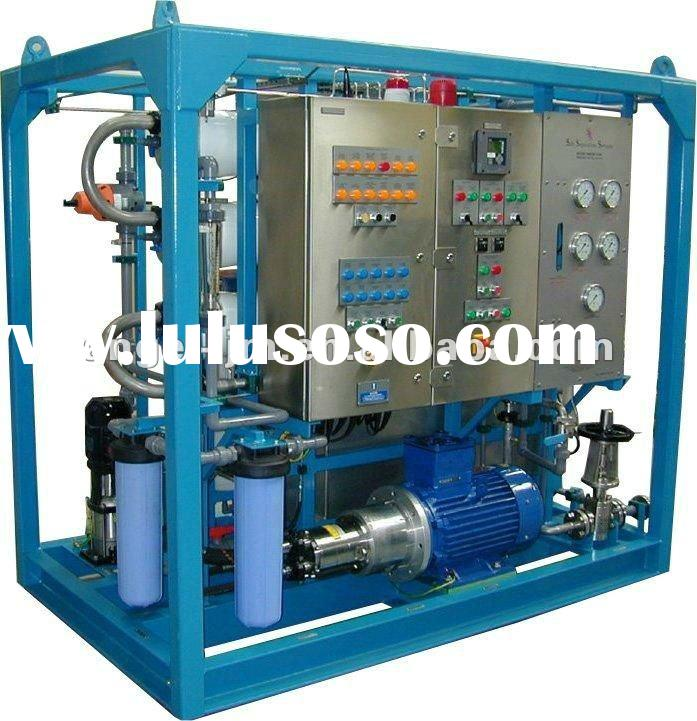 5TPD Potable Reverse Osmosis Seawater Desalination Plant