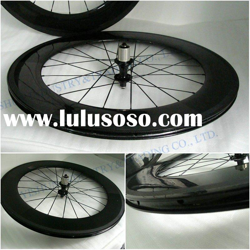 700C Full carbon clincher 88mm road wheels, high quality road wheels, 700C carbon clincher bike whee