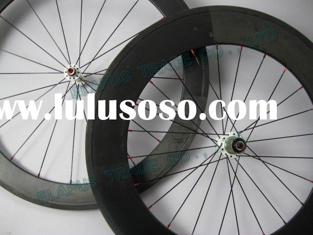 700c road bike wheelset 88mm clincher full carbon bicycle wheels