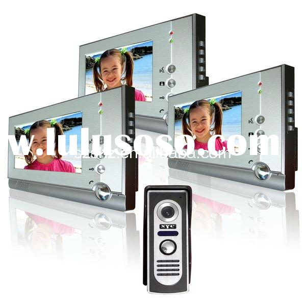 7'' color video door phone-commax intercom