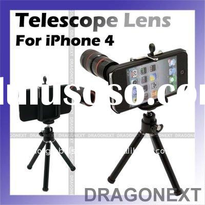 8x Optical Zoom Telescope Camera Lens For Apple iPhone 4 4G