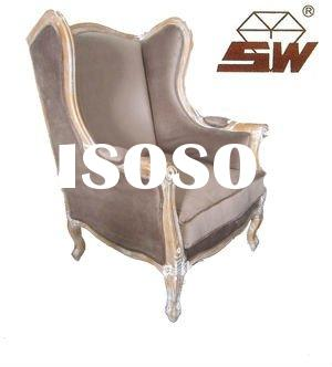 Antique wooden ARM Chair Wing Chair S033