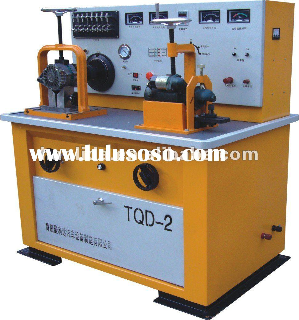 Auto Electrical Test Bench can be used to test 12v 24v generator alternator starter