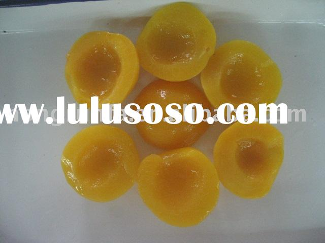 Canned Yellow Peach Halves(Slices, Dices) In Syrup/Water