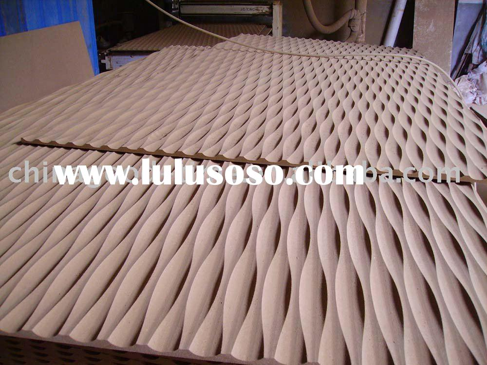 Solid mdf wave board for sale price china manufacturer