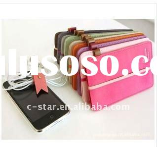 Cheap Leather case for Iphone,Handmade for iphone4 case with best leather comfortable and charming
