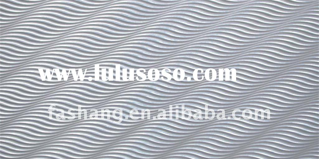 Decor 3D wave board.MDF decorative wall panels.Wood decoration