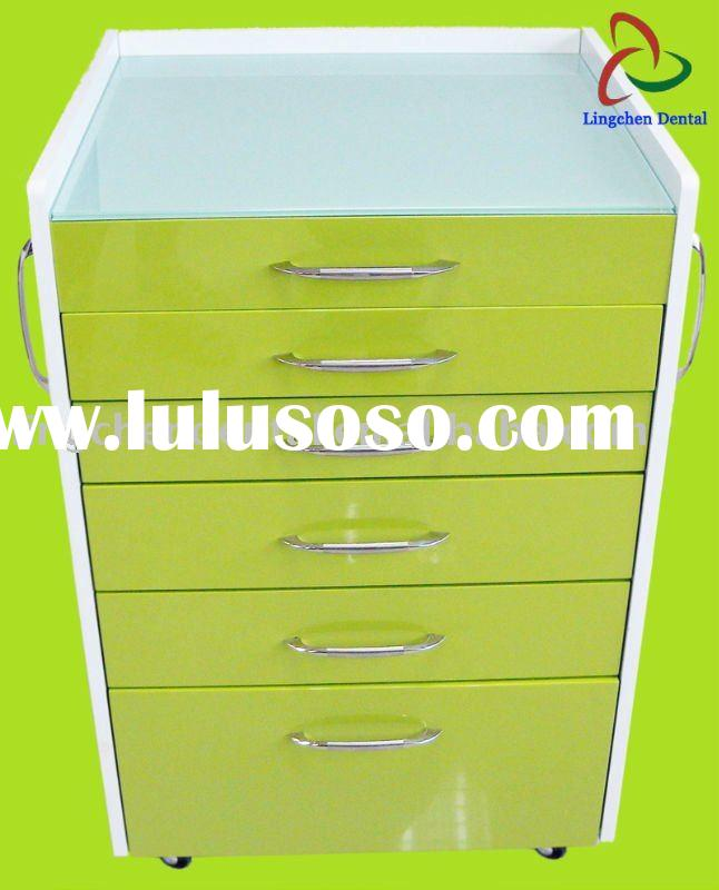 Dental Mobile Cabinet MDF material Guangzhou