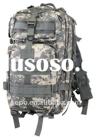 Digital camouflage military backpacks