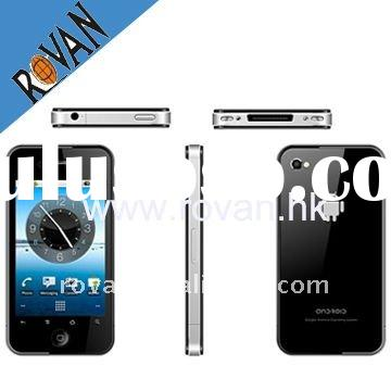 Dual sim gps Android dual camera big screen multi-point mobile handset WIFI TV