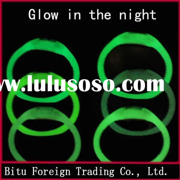 Fashion silicone watch with luminous 1 ATM, 3 ATM