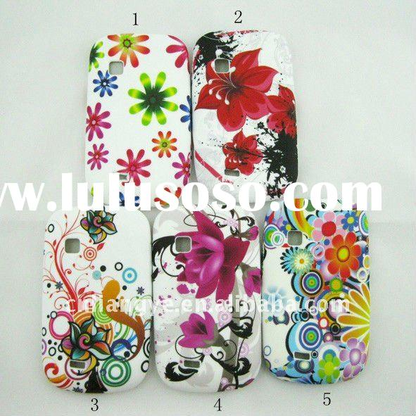 Flower TPU Gel Case Cover For Samsung Galaxy Fit S5670