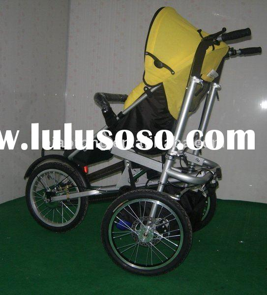 Folding bicycle baby bike stroller baby baby tricycle
