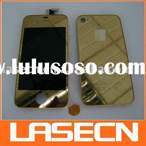 For iPhone 4 Golden/gold Plated Conversion Kit