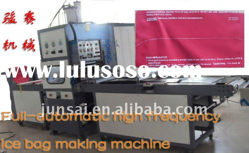Full-automatic high frequency ice bag making machine