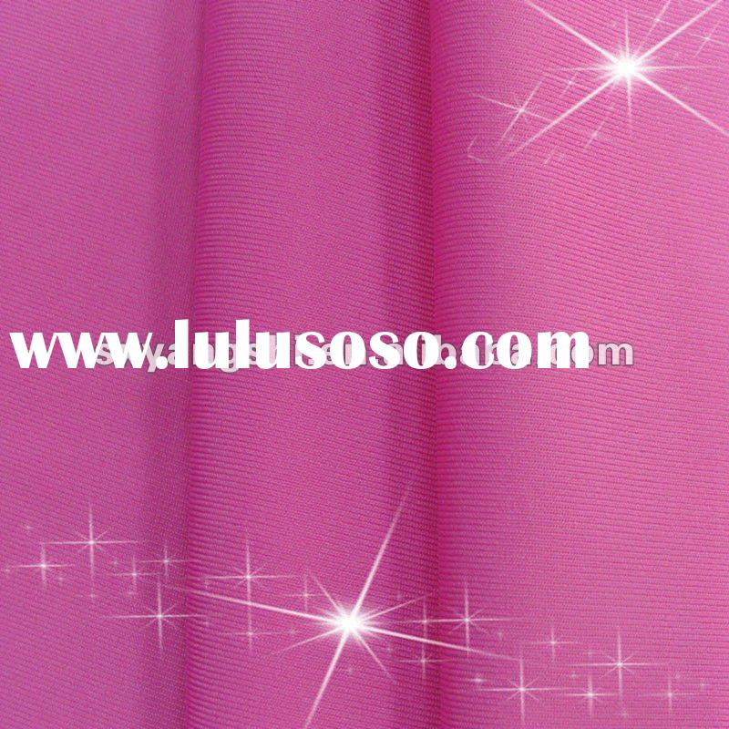 Full dull Nylon weft knitted fitness wear 4 way stretch fabric like Nike
