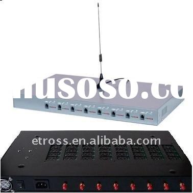 GSM FWT/FCT, 8 channels 64 sim cards for call termination,dualband or quadband(BTS LOCK)