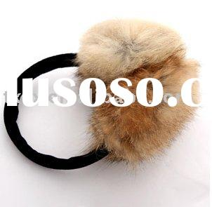 Genuine rabbit Fur Ear Muffs