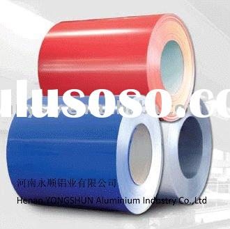 Grade AA3003 of colour coated aluminum sheet popular in Middle East