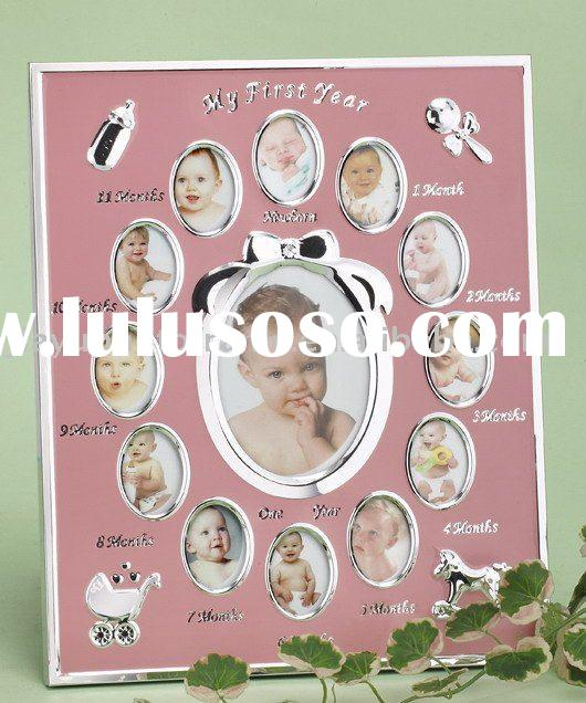 High Quality 12 Months Baby Photo Frame