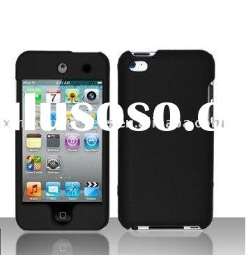 High Quality Protective Case rubber coating for ipod touch 4 itouch 4