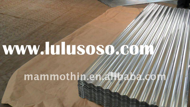 Hot dipped galvanized corrugated iron steel roofing sheet (SGCC)