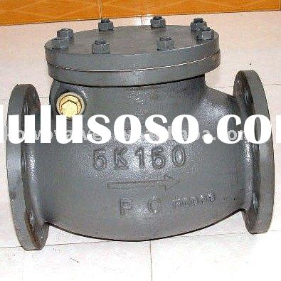 JIS MARINE CAST IRON SWING CHECK VALVES JISF7372
