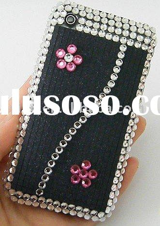 Jeweled cell phone housing Crystal mobile covers